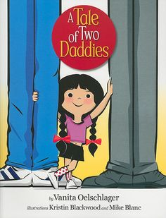 A Tale of Two Daddies is a playground conversation between two children. The boy says he heard that the girl has two dads. The girl says that is right. She has Daddy and Poppa. True to a child's curiosity, practical questions follow.