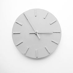A simple way to make your own wall clock.  (via design and form)