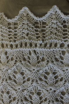 Ravelry: Project Gallery for Starflower Estonian Lace Baby Blanket pattern by Hazel Roots