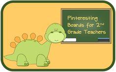 Pinteresting boards for 2nd grade teachers.