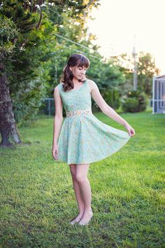Look at the hem of this dress, there is some gorgeous #Aurifil stitched into a cross stitch. More: http://oliviajanehandcrafted.com/blog