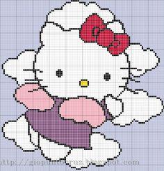 HK angel to cross-stitch