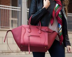 Beautiful pre-owned Céline Phantom now available at www.lovethatbag.ca