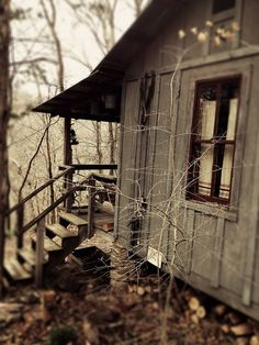cabin in the woods….