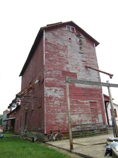 The old grain elevator