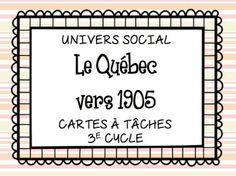 Les idées de Mme Roxane!: Petit update! Teaching Social Studies, Teaching French, Cycle, Elementary Schools, Teacher, Classroom, Study, Education, Math