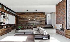 Living room | #livingroom #brickwall