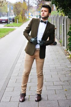Very quirky style! Asos KHAKI COLOR | Men's Look | ASOS Fashion Finder