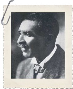 George Washington Carver was a famous chemist who made important agricultural discoveries and inventions