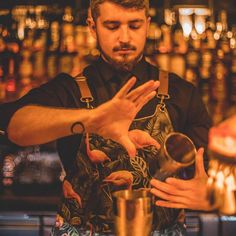 "ApronStudio on Instagram: ""Apron on the job #bratislava #thevelvetbar #flamingo #eppicaprons"" Bratislava, Copper Color, Flamingo, Apron, Velvet, Photo And Video, Couple Photos, Prints, Instagram"