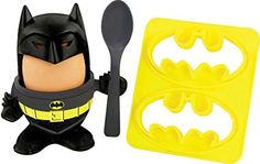 Official Batman Egg Topper, Egg Cup and Toast Cutter - Boxed #DCComics