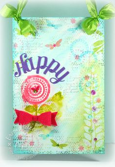 ePlay Challenge for June - Happy Wall Hanging (by Broni Holcombe)