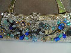 Repurposed handbag  www.calendargirljewelry.com