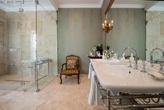 Hotel Bathroom Design, Bath Rack, Victorian Bathroom, Shower Valve, Basins, Towel Rail, Hotel Spa, Polished Chrome, Console