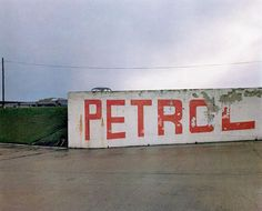 Petrol Station, Blyth Services, Nottinghamshire from the portfolio The Great North Road, March Chromogenic color print, 7 x 9 x cm). Committee on Photography Fund. Paul Graham, Richard Billingham, Lewis Baltz, Eugene Smith, Social Themes, Great North, Brave New World, Documentary Photographers, Culture