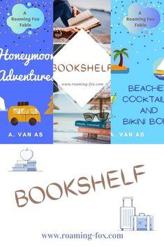 Roaming Fox Fables, memoirs, short stories & fiction. Downloadable eBooks. #roamingfoxfables #travelmemoirs #coffeereads #beachreads #honeymoonadventures #ebooks #downloads #memoirs #shortstories #fiction #travelbooks #travelreads #kindle #ibooks #pdf E Books, Fox Facts, Fable, Memoirs, Libraries, Bookshelves, Kayaking, Writers, South Africa