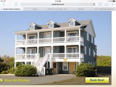 Southern Shores semi ocean front with views . Great location, close to everything and on/off the Outer Banks, JoeLambJr unit 255.