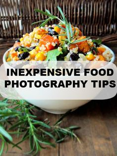 MY INEXPENSIVE FOOD PHOTOGRAPHY TRICKS #FOODPHOTOGRAPHY #TIPS #TUTORIAL