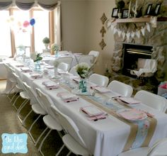 a shabby chic bridal shower part 1