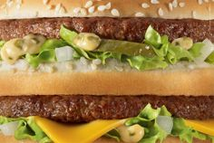 The Print Ad titled Big Mac was done by TBWA Paris, Wanda Productions advertising agencies for product: Mcdonald's Fast Food Restaurant (brand: McDonald's) in France. Big Mac, Mcdonalds Coupons, Mcdonalds Fast Food, Recipe Icon, Food Porn, Food Advertising, Creative Advertising, Fast Food Chains, London Food