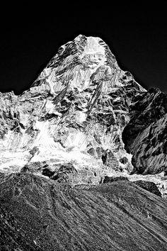 Ama Dablam - The Himalayas    By Frederick Ardley
