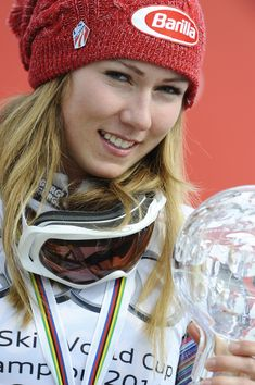 Mikaela Shiffrin in Audi FIS World Cup - Women's Slalom