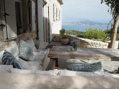 Travel - Our Villa in Corfu. Greek Island Heaven. - Roses and Rolltops