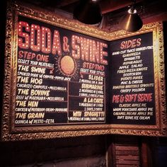 Soda & Swine (San Diego, CA)  --  Meatball themed restaurant!