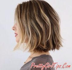@prettygirltips layered choppy bob haircut for summer