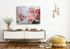 Dreams And Nightmares, Thing 1, Antique Paint, Large Canvas, Kandinsky, Yin Yang, Abstract Art, Abstract Nature, Abstract Paintings