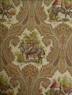 Discount Fabric for Apparel and Home Decorating Front Porch Design, English Decor, Equestrian Decor, Drapery Fabric, Fabric Design, Upholstery, Wishful Thinking, House Styles, Country Living