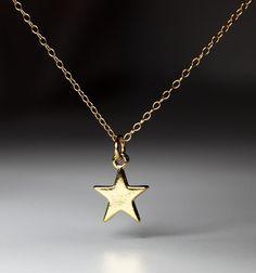 I'm a Superstar Necklace - Gold, $32