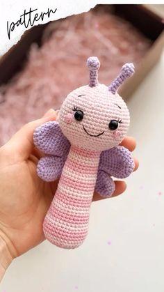 Crochet Animal Patterns, Stuffed Animal Patterns, Crochet Patterns Amigurumi, Amigurumi Doll, Crochet Animals, Crochet Dolls, Baby Patterns, Crochet Doll Tutorial, Softie Pattern