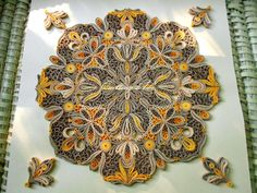 Intricate #Quilling