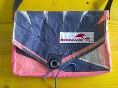 Handmade bag recycling sail by REDIWAVEbags on Etsy