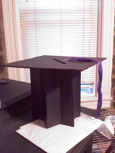 Angle 2 of Graduation Cap Card Holder.