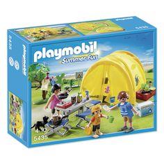 Playmobil tent