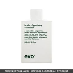 evo bride of gluttony conditioner Synthetic Hair Extensions, Brittle Hair, How To Feel Beautiful, Evo, Wigs, Hair Care, Conditioner, Hair Beauty, Bride