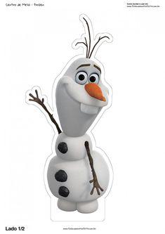 – Oh My Fiesta! in english Frozen: Free Printable Centerpieces. – Oh My Fiesta! in english Olaf Party, Elsa Birthday, Frozen Themed Birthday Party, Disney Frozen Birthday, Frozen Party, Turtle Birthday, Turtle Party, Cake Birthday, Olaf Frozen