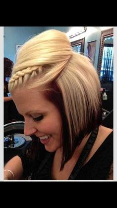 Love the colour differences think I might try this but have red as the bottom colour...