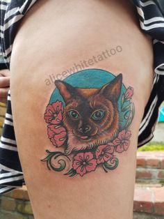 Derpy Cat by Alice White! Derpy Cats, Alice White, Tattoos, Art, Art Background, Kunst, Irezumi, Tattoo, Gcse Art
