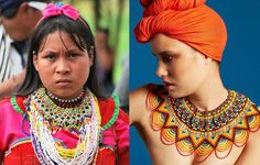 "Embera Chami, meaning ""mountain people"", believe that women bear the weight of the world on their shoulders."