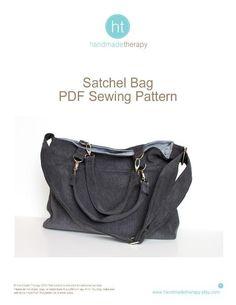 Sewing: Satchel Bag Pattern