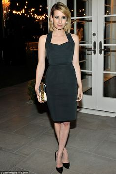 Actress Emma Roberts attends Lanvin And Living Beauty Host An Evening Of Fashion