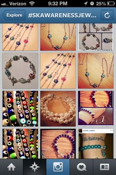 Use #skawarenessjewelry on Instagram Follow @artsymomma73 & @skawarenessjewelry for news & updates!!