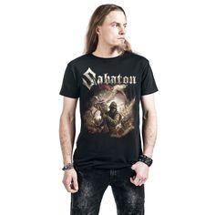 "Classica T-Shirt uomo nera ""The Last Stand"" dei #Sabaton."