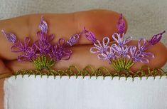 İğne Oyası Lavanta Çiçeği