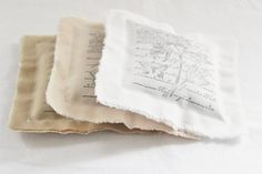 Shabby Cottage Lavender Sachets Gift for Mom Neutral by Gardenmis, $33.00