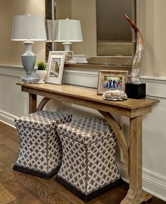 5 Places to Use a Console Table - Book Review | Wayfair