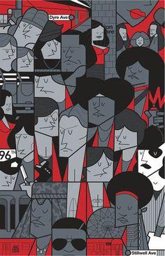 L'amour entre icônes de la Pop culture, illustré par Ale Giorgini